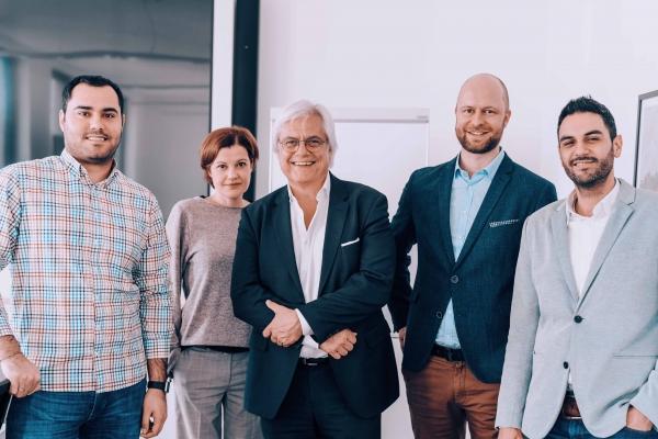 GLEIF CEO Stefan Wolf und Social DNA in Frankfurt