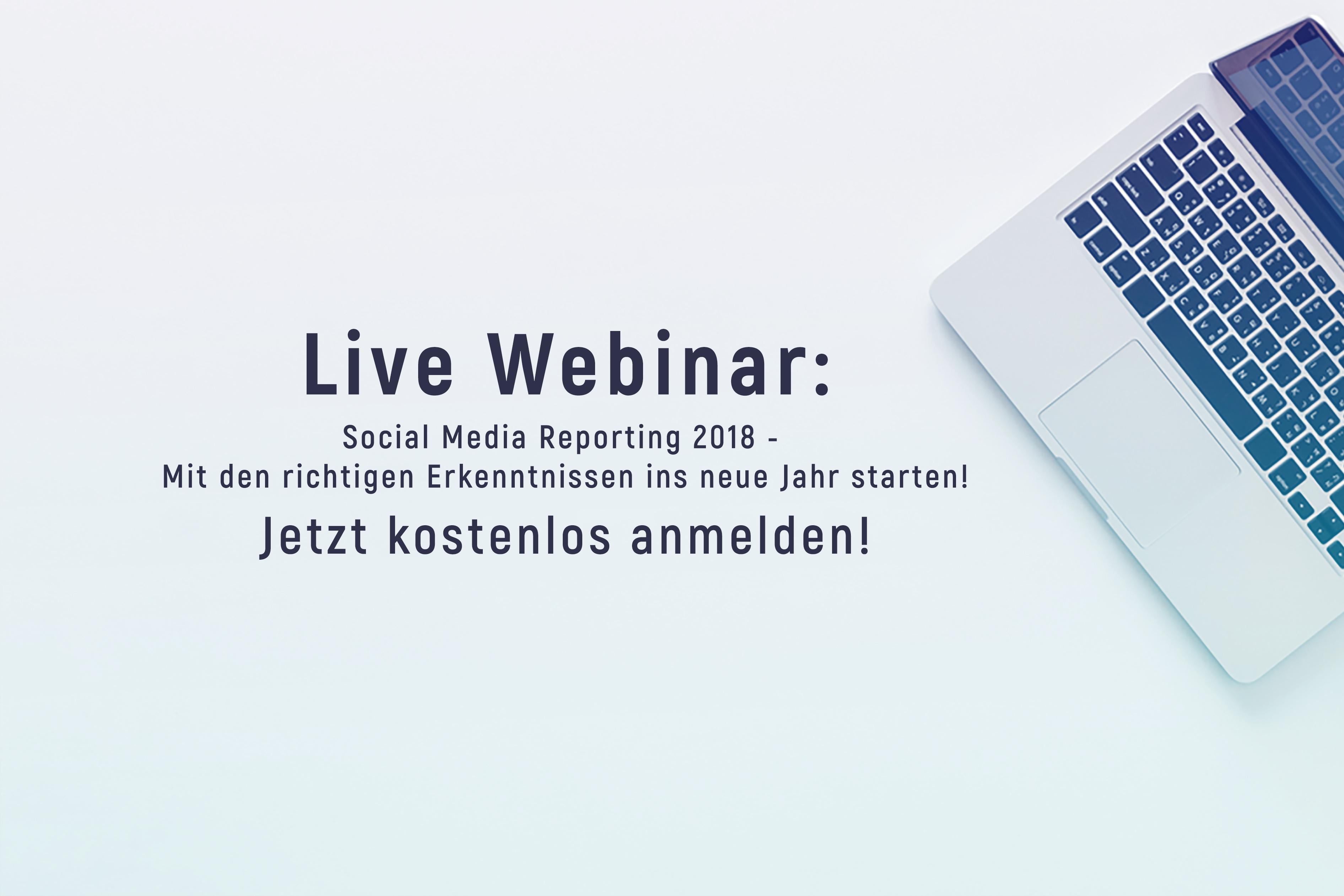 Social Media Reporting Webinar