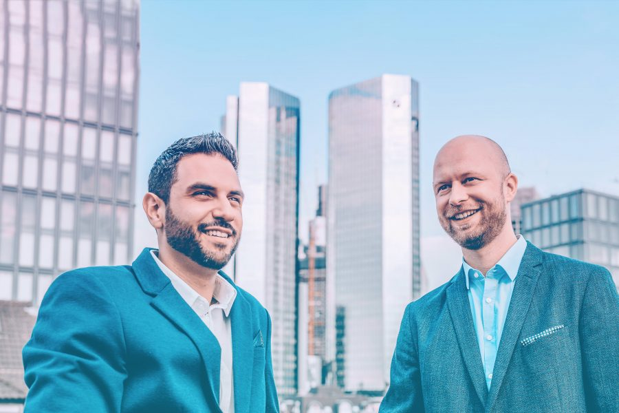 Nemo Tronnier und Carmelo Russo, Social DNA, Frankfurt