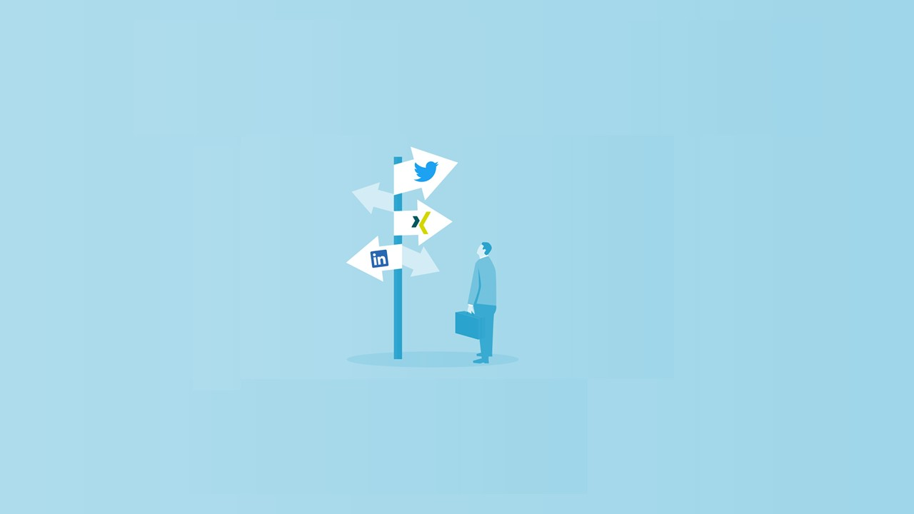 Wegweiser Social Media-Kanäle