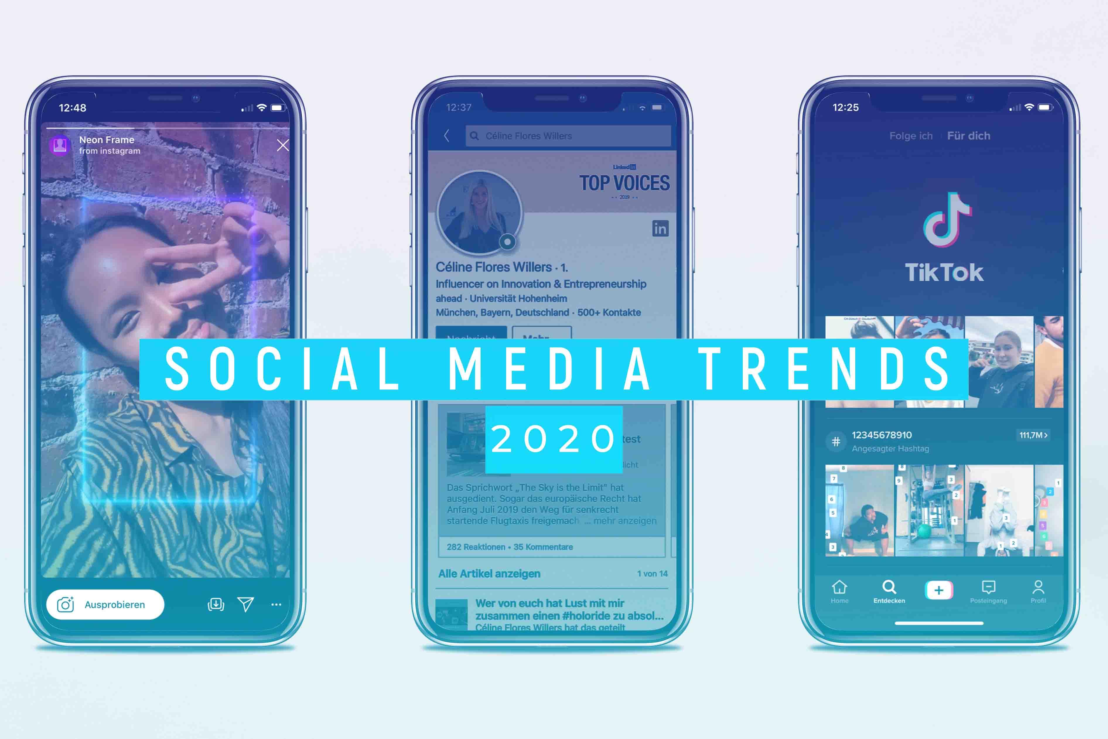 Trends Soziale Plattformen 2020