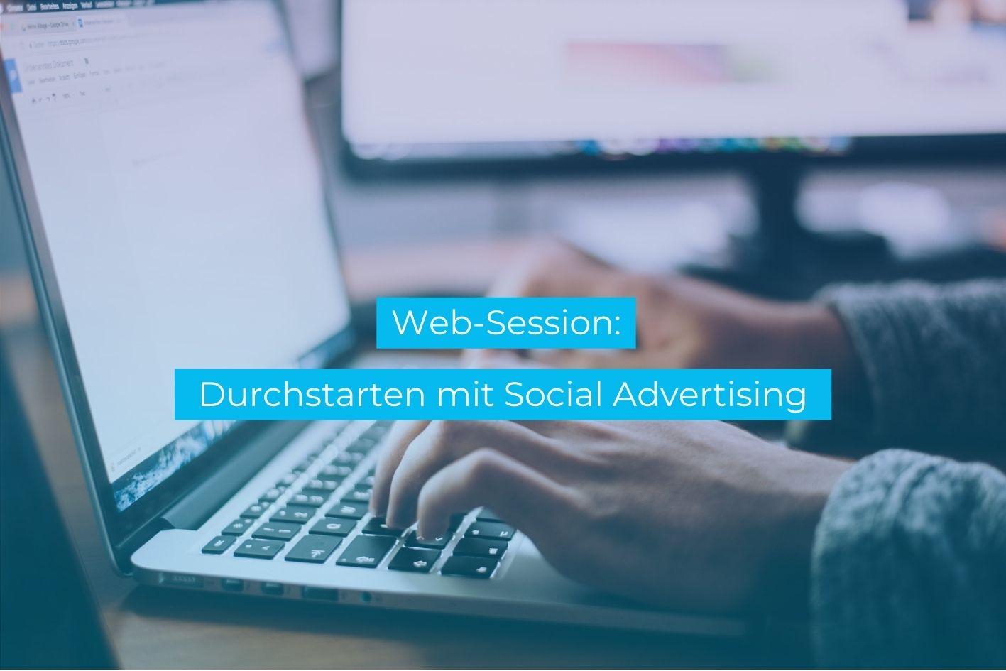 Vortrag Ankündigung Social Media Advertising