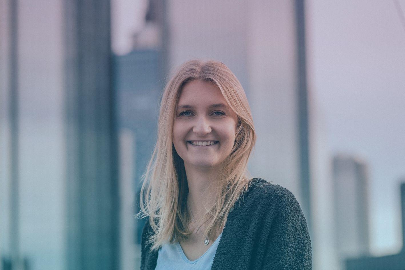Foto unserer neuen Kollegin Fabienne Bohn