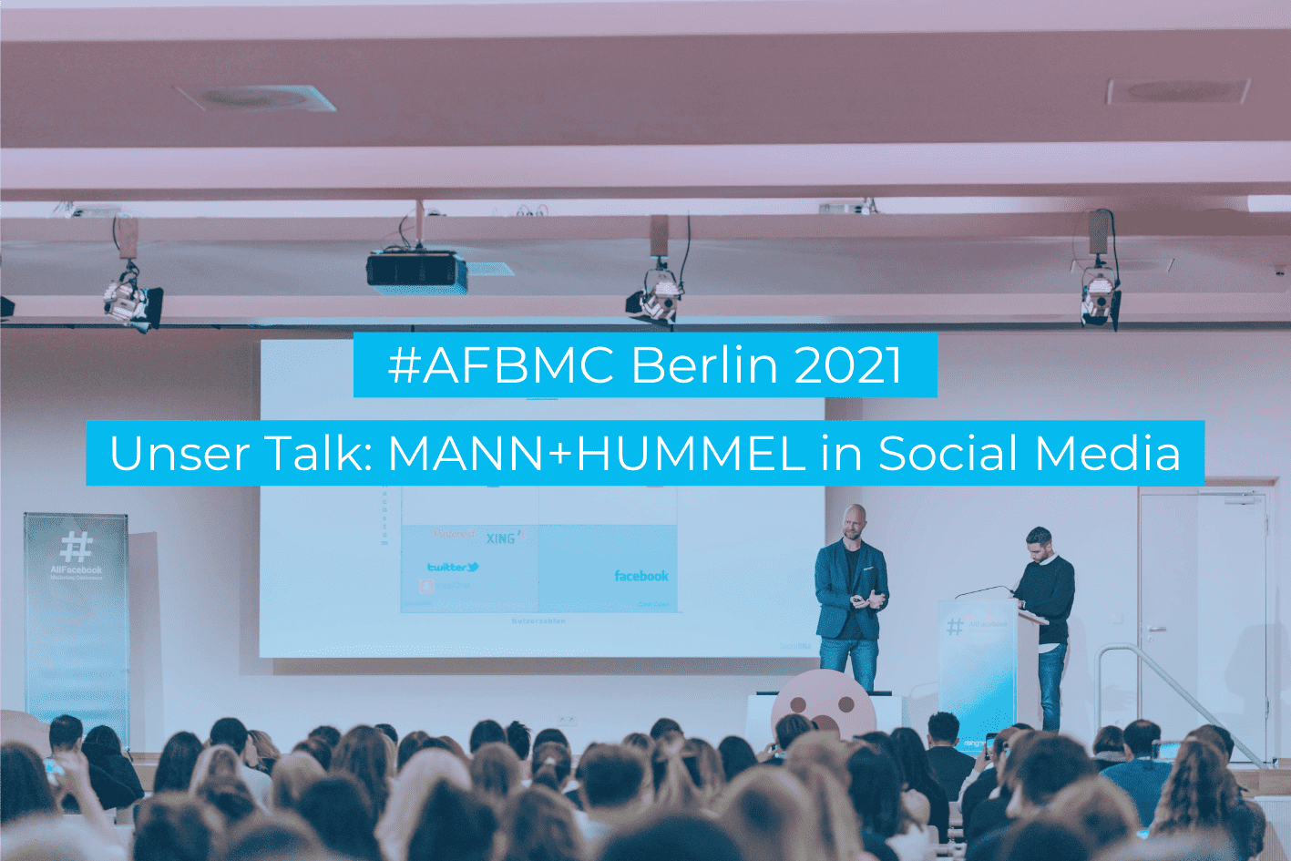 Social Medie Strategie B2B Mann+Hummel Vortrag